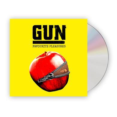 Gun Favourite Pleasures Jewel Case CD Album (w/ 16-Page Booklet) (Signed) CD