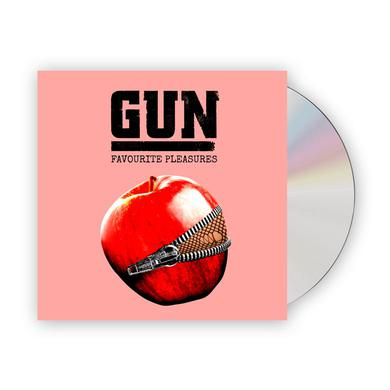 Gun Favourite Pleasures Deluxe Digipak CD Album (w/ 16-Page Booklet + Bonus Tracks) CD