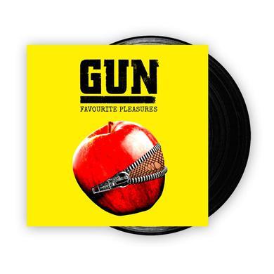 Gun Favourite Pleasures Vinyl LP (w/ Download Card) (Signed) LP