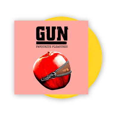 Gun Favourite Pleasures Coloured Vinyl LP (w/ Download Card, Exclusive) (Signed) LP