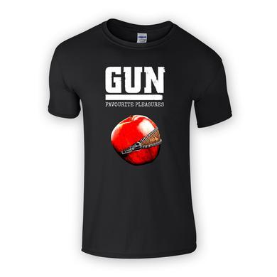 Gun Favourite Pleasures Black T-Shirt