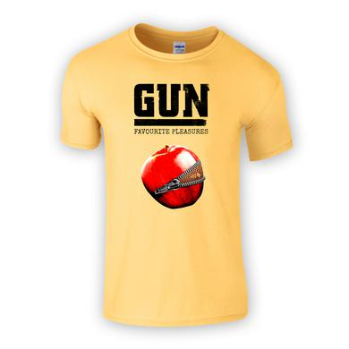 Gun Favourite Pleasures Yellow T-Shirt