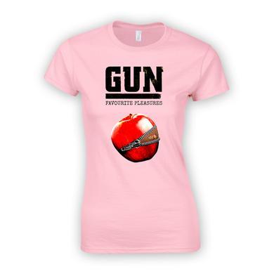 Gun Favourite Pleasures Pink Ladies T-Shirt