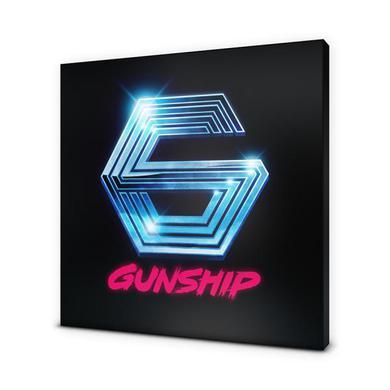 Gunship G Logo Canvas