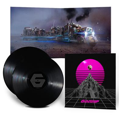 Gunship 'Black Edition' 2x 180g Vinyl Double Heavyweight LP
