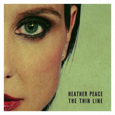 Heather Peace Signed The Thin Line CD Album CD