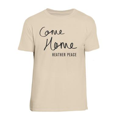 Heather Peace Sand Come Home T-Shirt