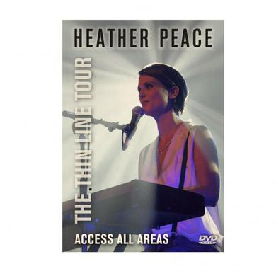 Heather Peace The Thin Line Tour - Access All Areas DVD DVD