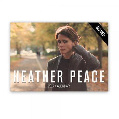 Heather Peace Signed 2017 Calendar