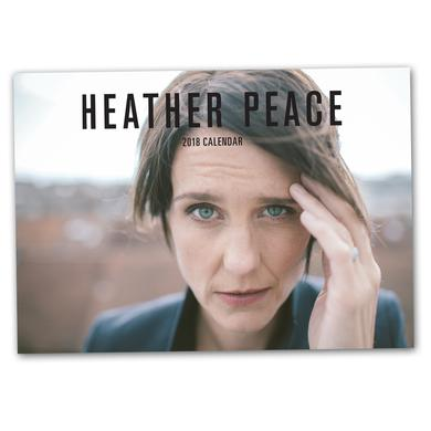 Heather Peace 2018 Calendar (Signed) + Exclusive A4 Print