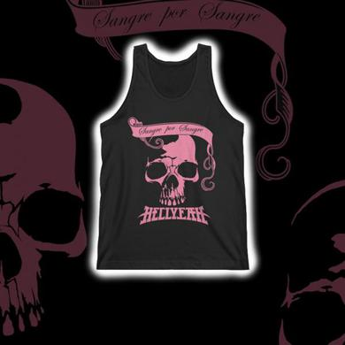 Hellyeah 2015 Official EU Tour Pink Hellions Ladies Tank