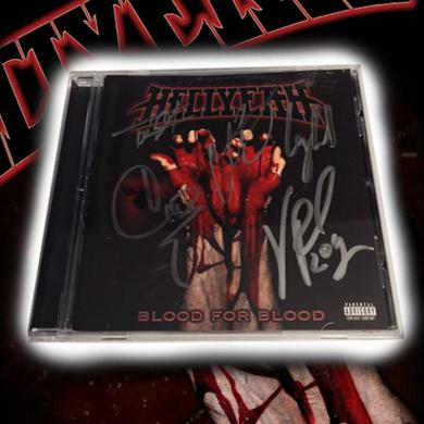 Hellyeah Signed Blood for Blood CD  CD