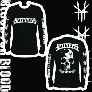 Hellyeah Hellion Black Long Sleeved T-Shirt