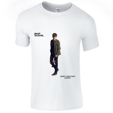 Henry Gallagher White Christmas Customizable 'Name' T-Shirt