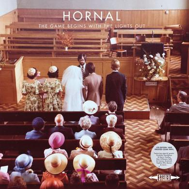 Hornal The Game Begins With The Lights Out Ltd Edition Frosted Clear Vinyl LP LP