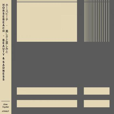 Horsebeach Beauty & Sadness Clear Vinyl LP (Signed) LP