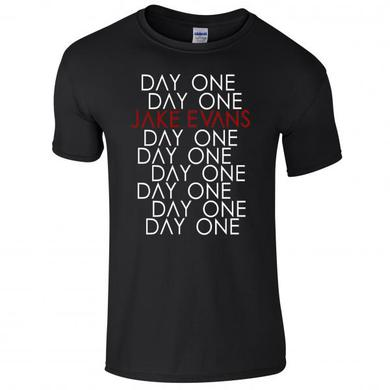 Jake Evans Day One Black T-Shirt