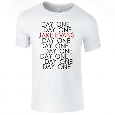 Jake Evans Day One White T-Shirt