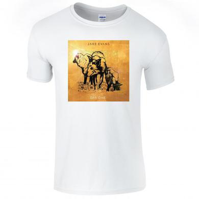 Jake Evans Day One Artwork White T-Shirt