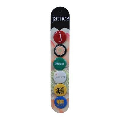 James 2013 Badge Set
