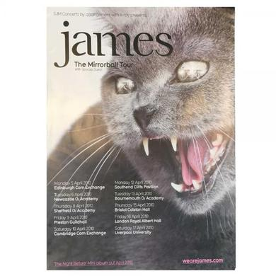 James Cat Tour Poster