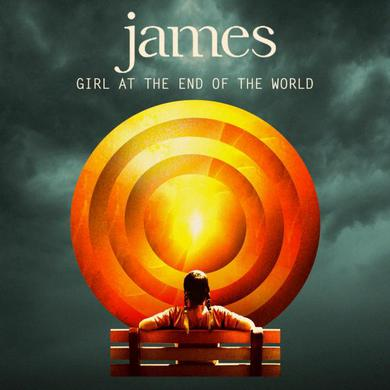 James Girl At The End Of The World CD (W/Exclusive A4 Print) CD