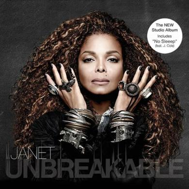 Janet Jackson Unbreakable (Cover 1) CD