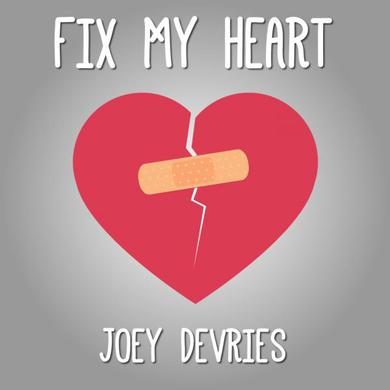 Joey Devries Fix My Heart CD3 (Signed) CD Single