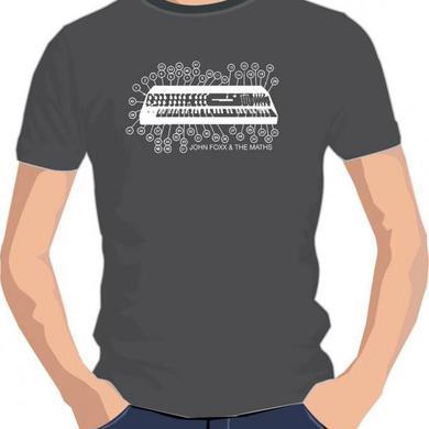 John Foxx Synth T-Shirt  (Black t-shirt)