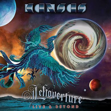 Kansas Leftoverture Live & Beyond - Limited Deluxe Black Vinyl 4LP + 2CD Boxset