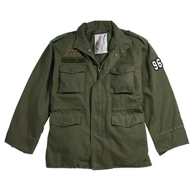 Linkin Park Vintage Tiger LP Military Jacket