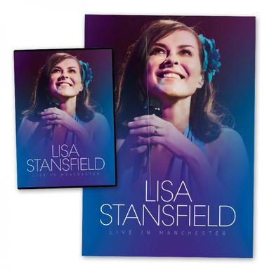 Lisa Stansfield Live In Manchester DVD (+ Exclusive Signed Litho Print) DVD