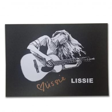 Lissie Signed Postcard