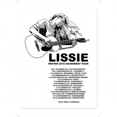 Lissie Tour A3 Poster