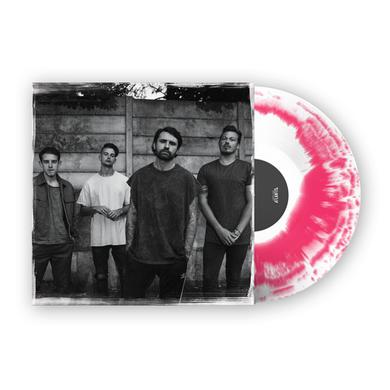 LOWER THAN ATLANTIS Safe In Sound Pink Tie Dye Vinyl LP (Signed) LP
