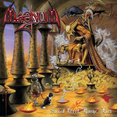 "Magnum Sacred Blood ""Divine"" Lies (Limited Edition) (W/Signed Postcard) CD/DVD"