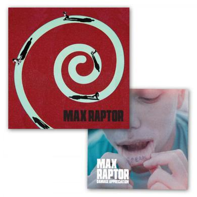 Max Raptor CD Album + Damage Appreciation EP CD (Vinyl)