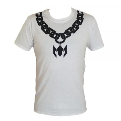 Maxim White/Black Chunk Chain MM T-Shirt