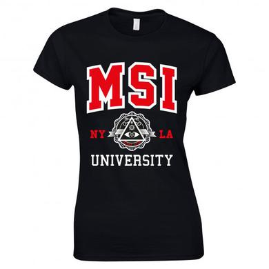 Mindless Self Indulgence Ladies University T-Shirt