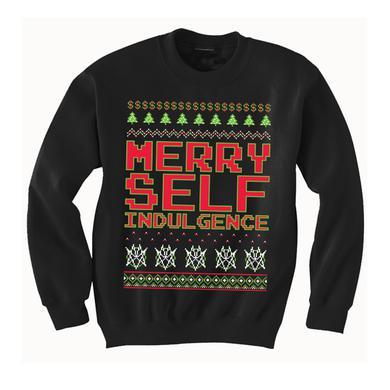 Mindless Self Indulgence Merry Self Indulgence Sweatshirt (Black)