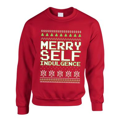 Mindless Self Indulgence Merry Self Indulgence Sweatshirt (Red)