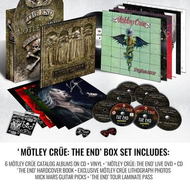 Motley Crue The End Box Set Boxset