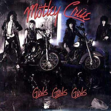 Motley Crue Girls Girls Girls (180g Red Vinyl) Heavyweight LP
