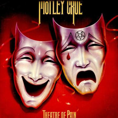 Motley Crue Theatre Of Pain (180g White Vinyl) Heavyweight LP