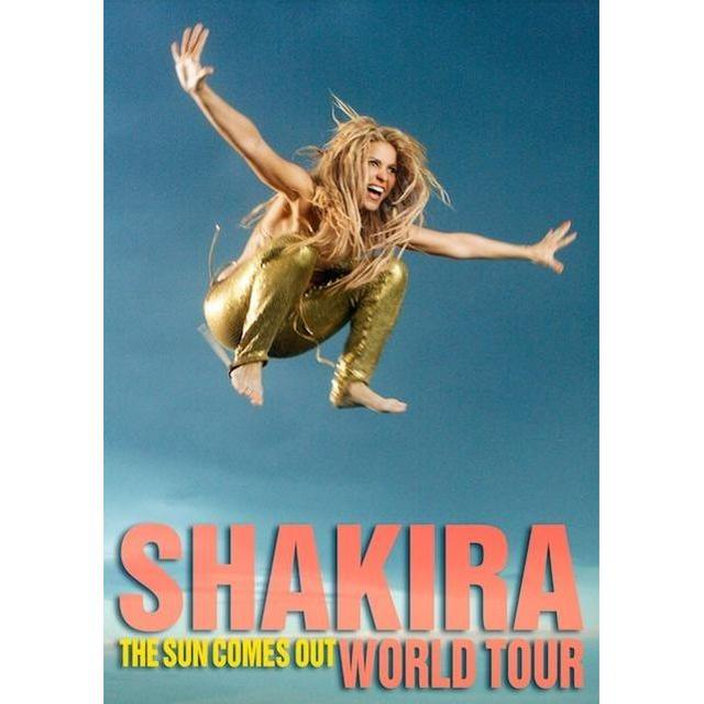 Shakira Sun Comes Out Tour Poster