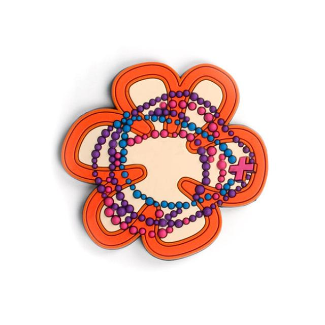 Shakira Flower Rubber Patch