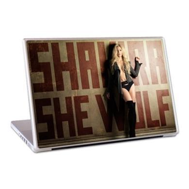 "Shakira She Wolf 13"" Lap Top Skin"