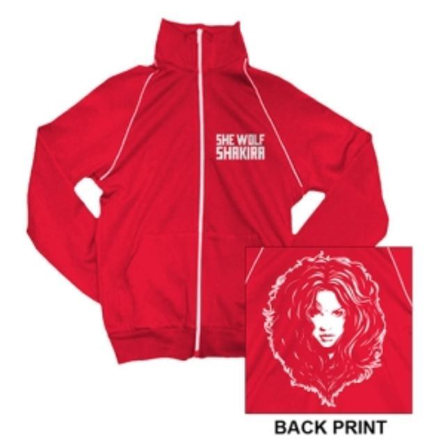Shakira Face Of The Wolf Track Jacket