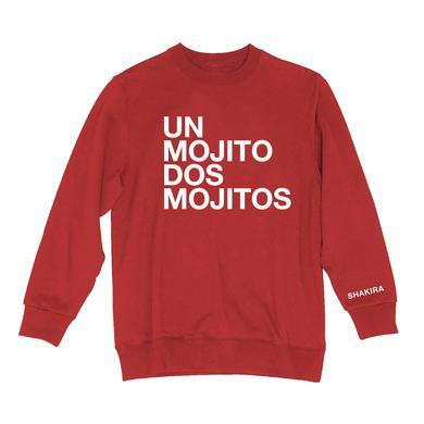 Shakira Long Crew Neck Sweatshirt