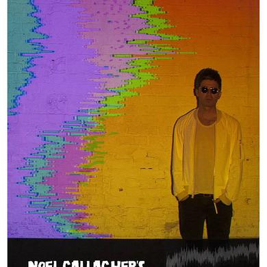 Noel Gallagher's High Flying Birds Litho Poster
